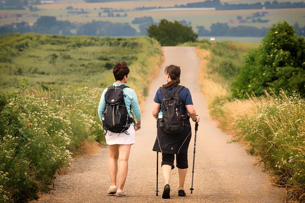 Putujme bez hranic - Putování po hřebeni