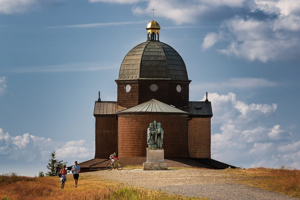 Putujme bez hranic - Kaple sv. Cyrila a Metoděje, Radhošť