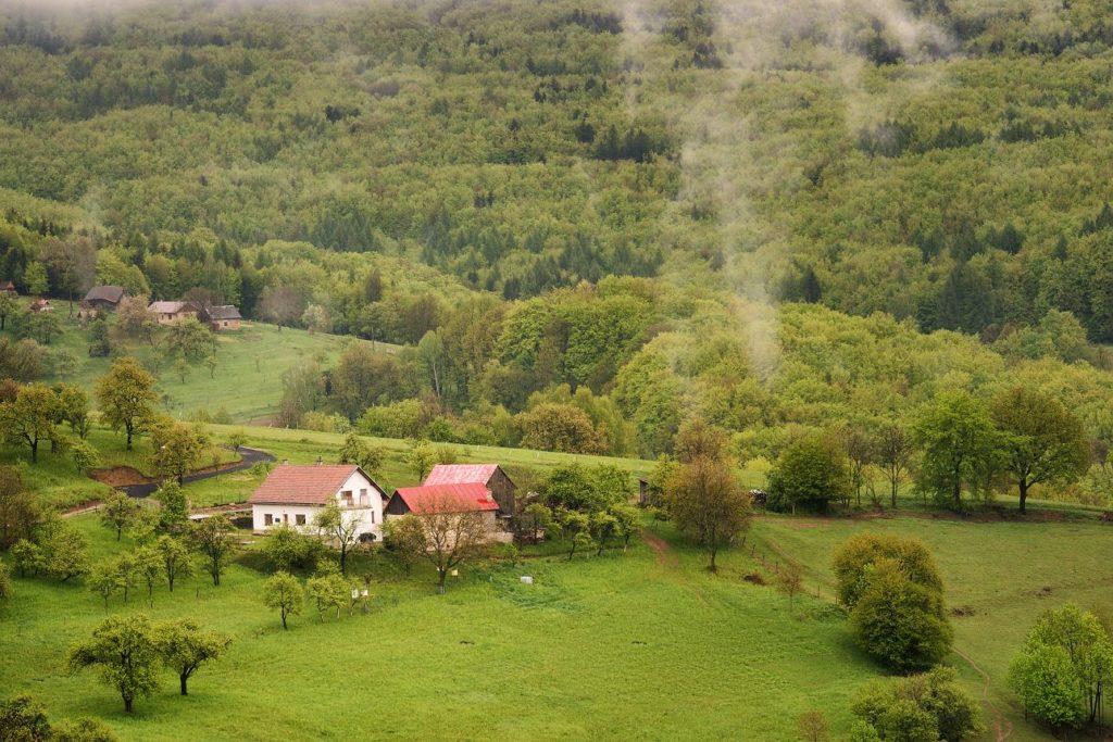 Moravské Kopanice - obec Žítková