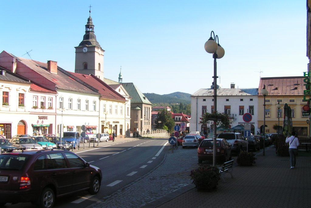 Jablunkov, náměstí