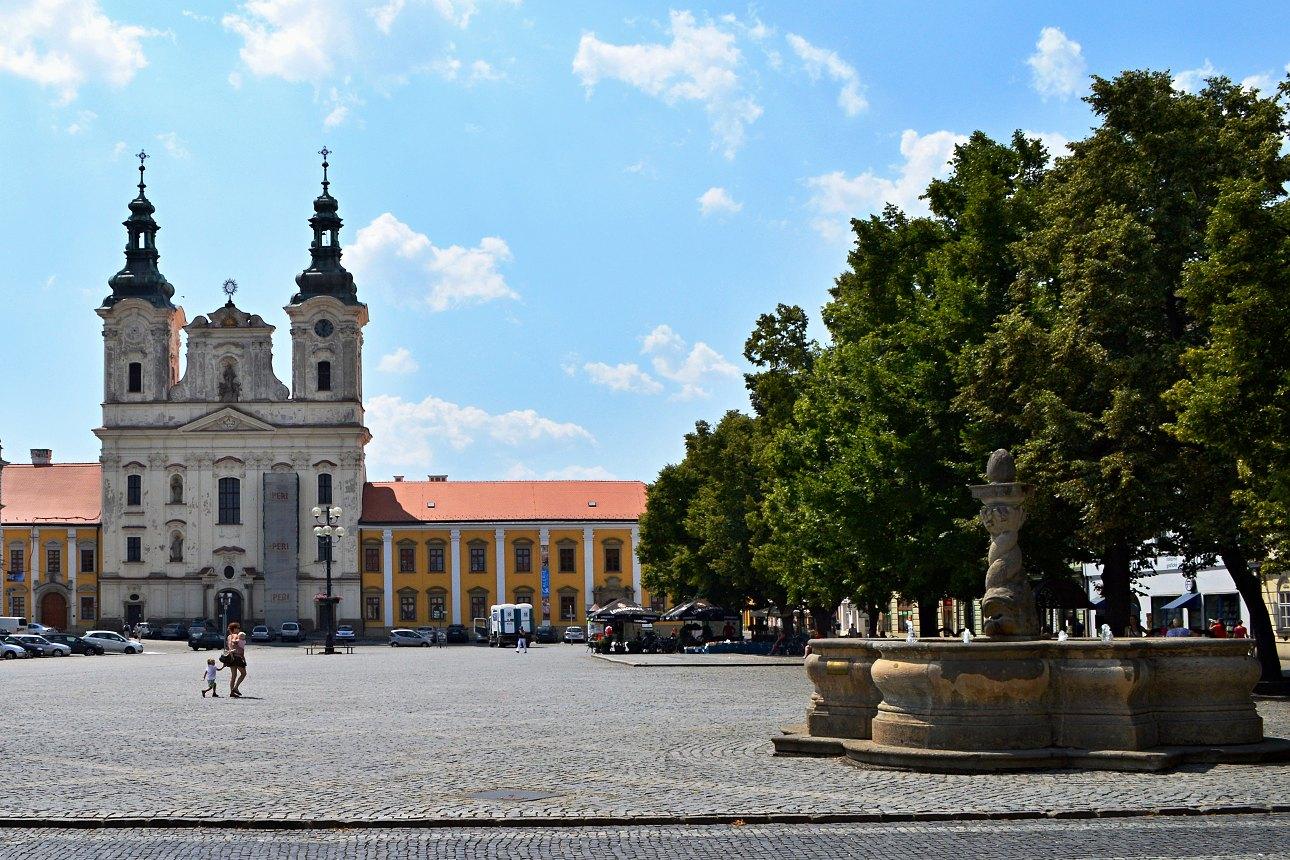 náměstí, Uherské Hradiště