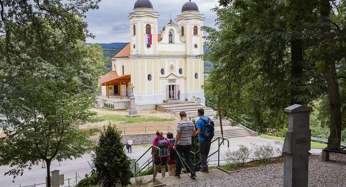 Cyrilometodějské putování, Skalka u Trenčína